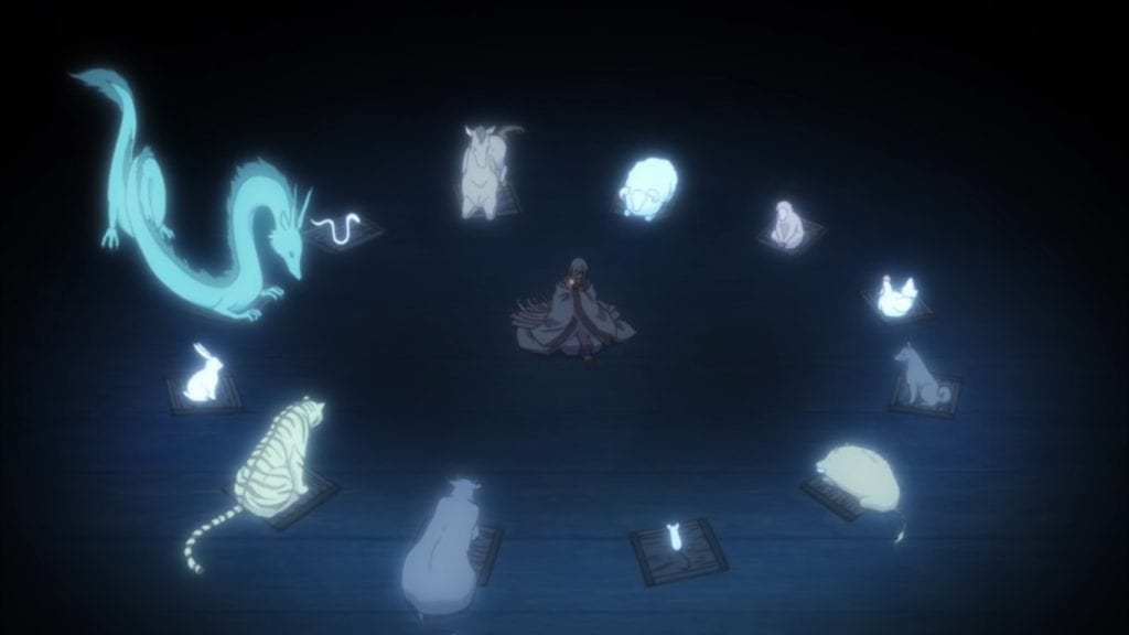 The banquet held by God with the Zodiacs. This is the basis of the Sohma curse