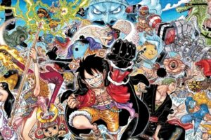 One Piece Exhibits 100 Volume Covers At Fuji TV Headquarters